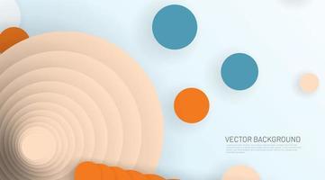 abstrakter Memphis 3d Hintergrund