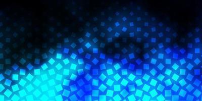 dunkelrosa, blauer Vektorhintergrund mit Rechtecken. vektor
