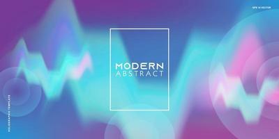 neon glödande techno linjer, high-tech futuristiska, abstrakt bakgrund mall med vågformer. vektor
