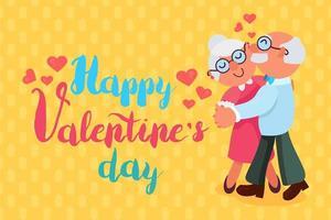 glad alla hjärtans dag vektor