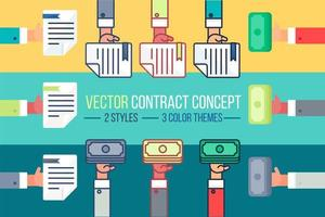betalnings- och dokumentsymbol vektor