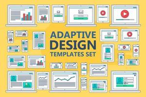 adaptive Webvorlagen