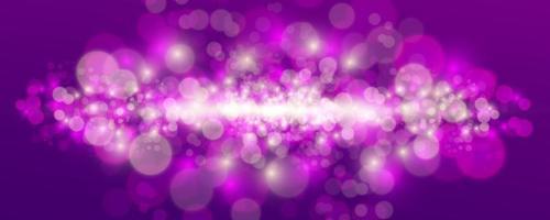 verschwommenes Licht funkeln Elemente. vektor