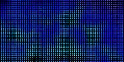 ljusrosa, blå vektormall med cirklar. vektor