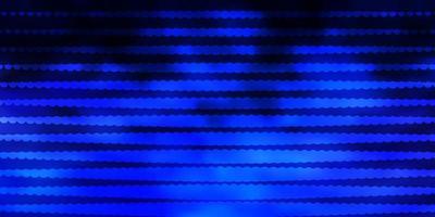 mörkrosa, blå vektorbakgrund med cirklar. vektor
