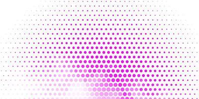 hellviolette, rosa Vektortextur mit Scheiben.