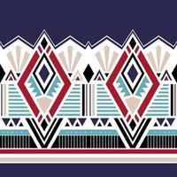 geometriska etniska orientaliska sömlösa mönster traditionella. vektor
