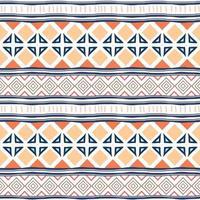 geometriska etniska orientaliska sömlösa mönster traditionella. färgglada ränder, för inslagning och textiltryck. vektor