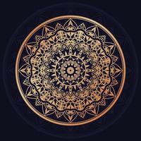 Luxus-Mandala-Design vektor