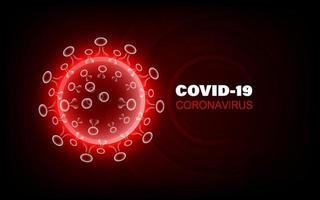 coronavirus sjukdom covid-19 infektion medicinsk vektor