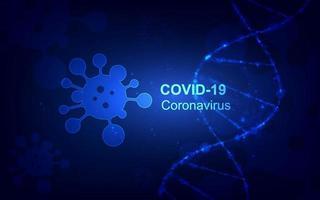 coronavirus sjukdom covid-19 infektion medicinsk design vektor