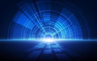 abstrakte Technologie Geschwindigkeitskonzept. Vektor Hintergrund