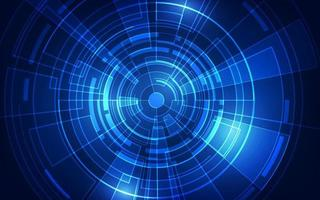abstrakt futuristisk digital teknikbakgrund. vektor