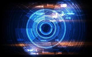 Hintergrund des futuristischen Designkonzepts von Sci Fi Tech Cyber vektor