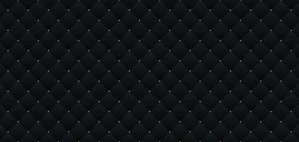 schwarzes dunkles elegantes Muster im Retro-Stil mit kleinen goldenen Punkten. Hintergrund für Einladungskarte. Sie können für Premium Royal Party verwendet werden. Luxus Poster bg Vorlage mit Vintage Leder Textur vektor