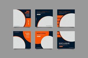 dynamisk super försäljning sociala medier banner mall vektor