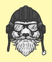 panda fluga illustration