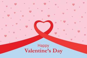 Valentinstag Hintergrund Konzept Illustration vektor