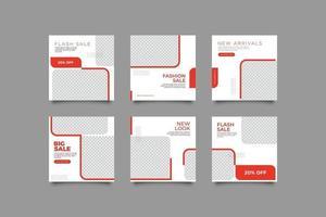 Digital Business Marketing Social Media Set