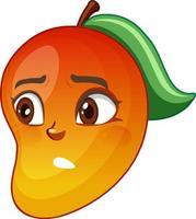 mangotecknad karaktär med ansiktsuttryck