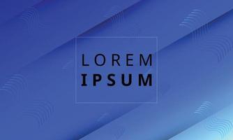 moderner trendiger blauer bunter geometrischer Hintergrund