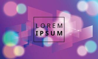modern trendig neon färgglad geometrisk bakgrund