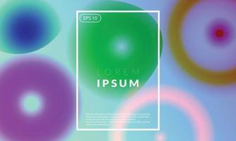 bunter geometrischer Hintergrund des modernen trendigen Neons