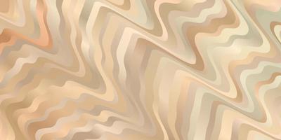hellbrauner Hintergrund mit Wellenlinien vektor