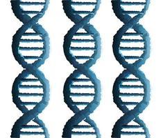 Symbol für die genetische Struktur von DNA-Molekülen vektor