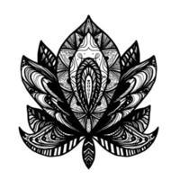 blomma lotus tatuering