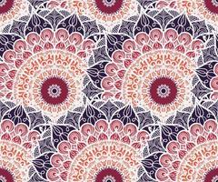 nahtloses Mandala-Muster