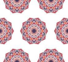 mandala sömlösa mönster vektor