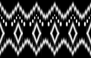 abstraktes geometrisches Schwarzweiss-Muster nahtloses Schwarzweiss vektor