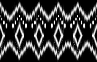 abstrakta geometriska svartvita mönster sömlösa svartvita vektor