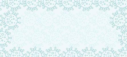 Corona-Virus Hintergrund vektor