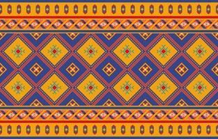 nahtloser Vektor des abstrakten roten geometrischen nativen Musters. Wiederholter geometrischer Hintergrund