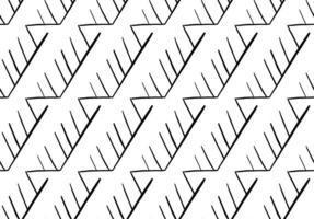 vektor textur bakgrund, sömlösa mönster. handritade, svarta, vita färger.