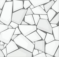 weiße Kies Textur Tapete. Vektorillustration eps10 vektor