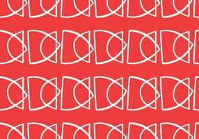 vektor textur bakgrund, sömlösa mönster. handritade, röda, vita färger.