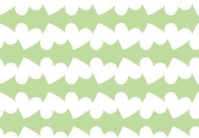 vektor textur bakgrund, sömlösa mönster. handritade, gröna, vita färger.