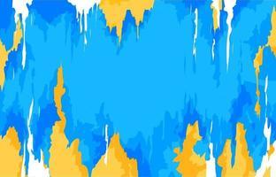blauer abstrakter Kunsthintergrund vektor