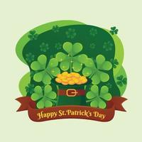 Happy St. Patricks Tag vektor