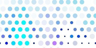 hellrosa, blaue Vektorbeschaffenheit mit Scheiben. vektor