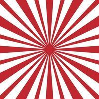 abstrakter Starburst-Hintergrund. Sunburst Strahlen Muster Textur. Vektorgrafikenillustration vektor