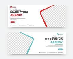 Business-Marketing-Banner-Design-Vorlage vektor