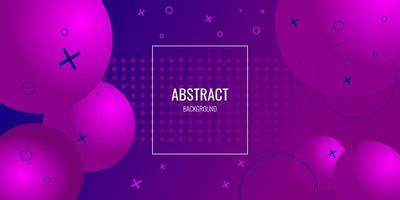 moderner geometrischer abstrakter Hintergrund mit Kreis