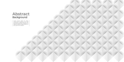 vit geometrisk textur abstrakt bakgrund vektor