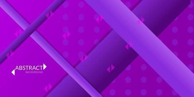 abstrakt geometrisk bakgrund i lila lutning vektor