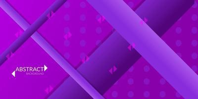 abstrakter geometrischer Hintergrund im violetten Farbverlauf vektor