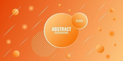 modern abstrakt orange gradient geometrisk